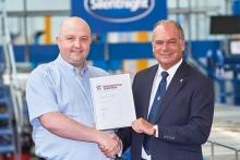 Silentnight Beds awarded the Manufacturing Guild Mark