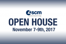 SCM UK Open House in November